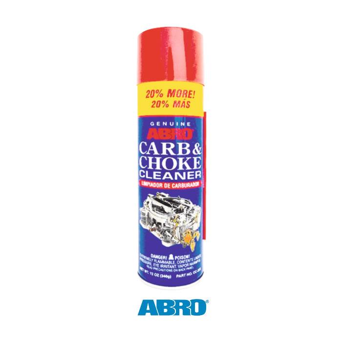 carb  u0026 coke cleaner - abro